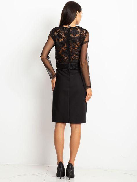 Czarna sukienka Moment                              zdj.                              2
