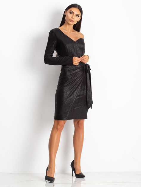Czarna sukienka Party                              zdj.                              4