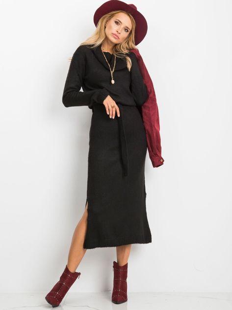 Czarna sukienka Peace                              zdj.                              1