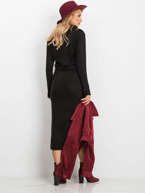 Czarna sukienka Peace                              zdj.                              2
