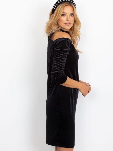 Czarna sukienka Penny                              zdj.                              3