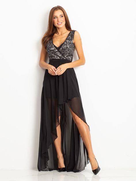 Czarna sukienka Perfect                              zdj.                              4