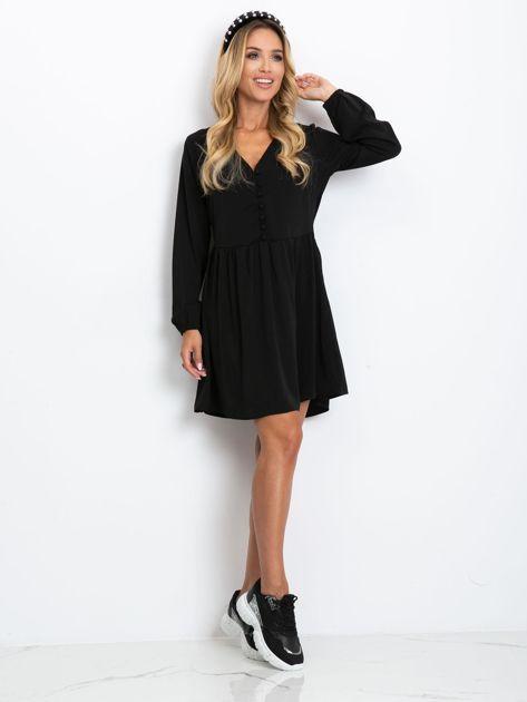 Czarna sukienka Reason                              zdj.                              4