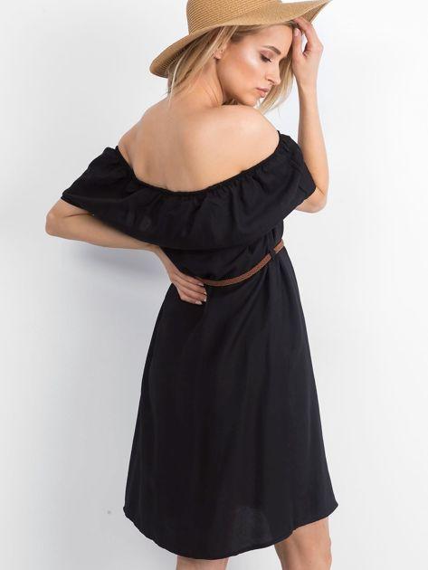 Czarna sukienka Reputedly                              zdj.                              2