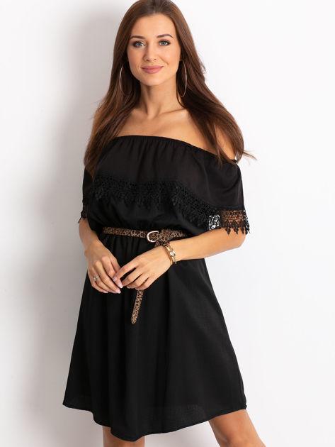Czarna sukienka Serenity                              zdj.                              1
