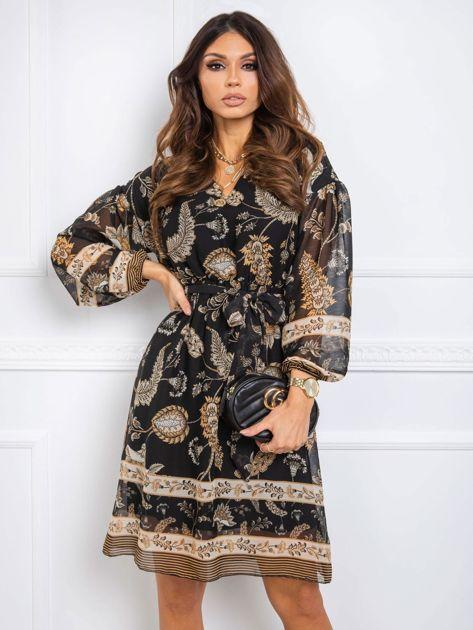Czarna sukienka Stella RUE PARIS