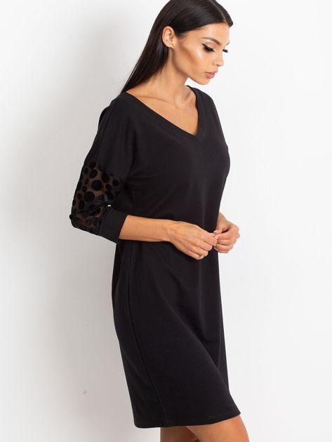 Czarna sukienka Stream                              zdj.                              3