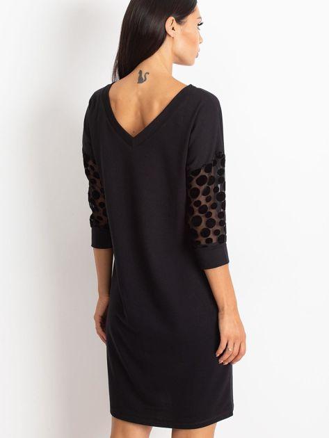 Czarna sukienka Stream                              zdj.                              2