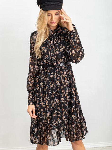 Czarna sukienka Tease                              zdj.                              5