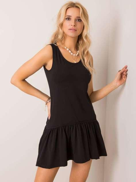 Czarna sukienka Triple RUE PARIS