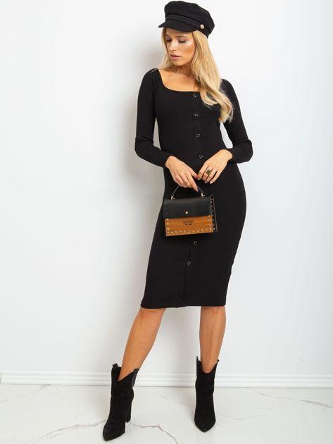 Czarna sukienka Wild                              zdj.                              4