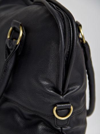 Czarna torba miejska na ramię                                  zdj.                                  2