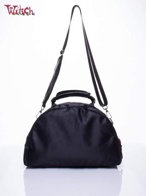 Czarna torba szkolna DISNEY Witch z odpinanym paskiem                                  zdj.                                  3