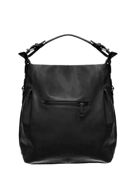 Czarna torebka hobo na ramię                                  zdj.                                  2