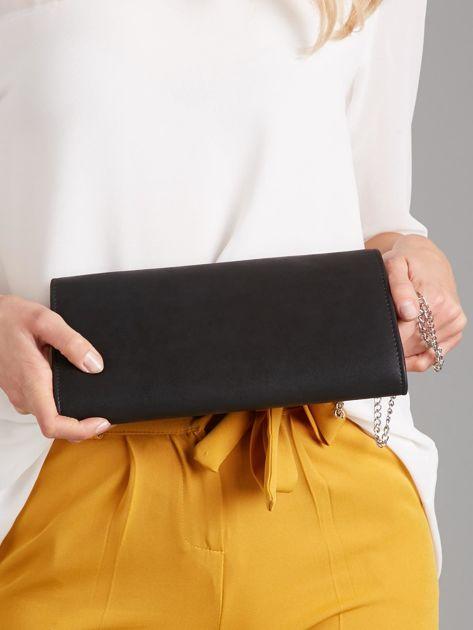 Czarna torebka kopertówka                              zdj.                              3