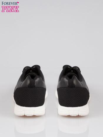 Czarne buty sportowe dual Lead Up z wężową wstawką                                  zdj.                                  3