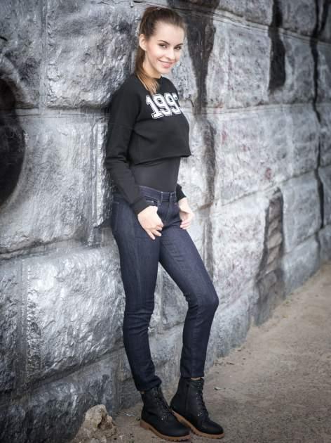 Czarne damskie buty trekkingowe typu traperki                                  zdj.                                  5
