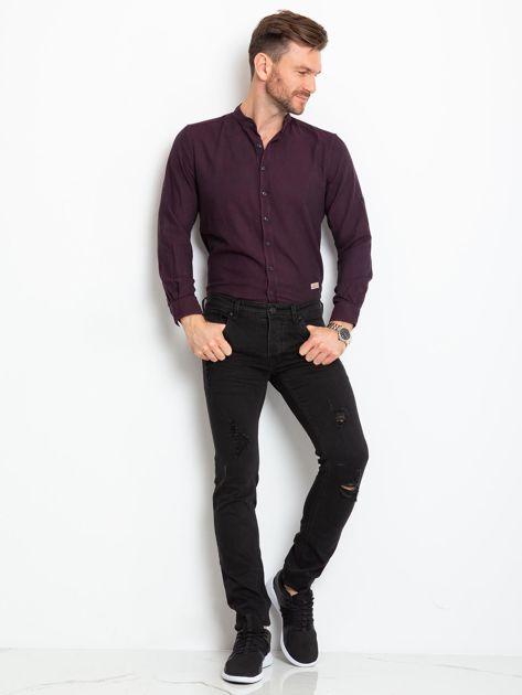 Czarne jeansy męskie Impression                              zdj.                              4
