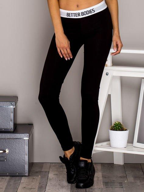 Czarne legginsy BETTER BODIES                              zdj.                              1