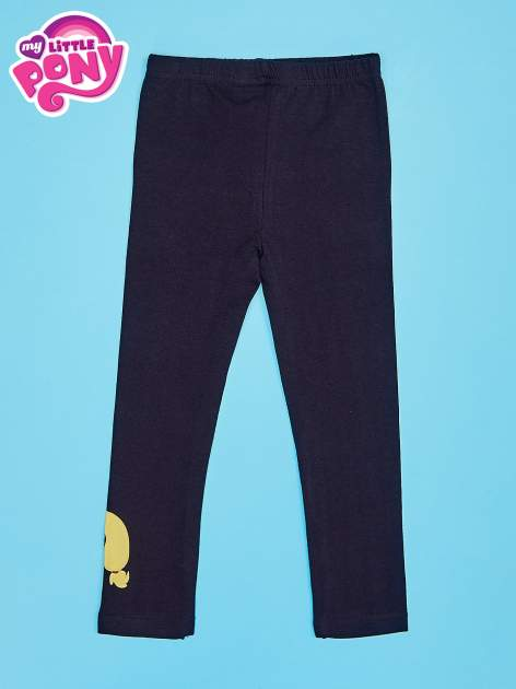 Czarne legginsy dla dziewczynki motyw MY LITTLE PONY                                   zdj.                                  2