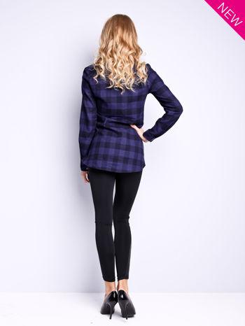 Czarne legginsy ze skórzanymi wstawkami                                  zdj.                                  3