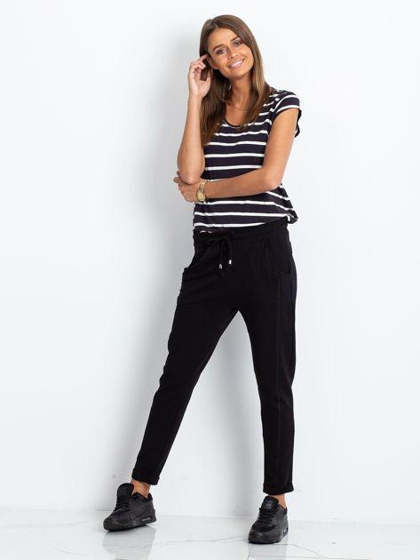 Czarne spodnie Approachable                              zdj.                              4