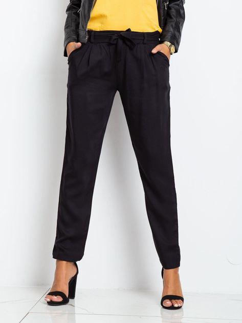 Czarne spodnie Carbon                              zdj.                              1