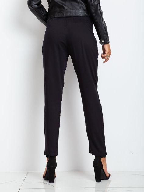 Czarne spodnie Carbon                              zdj.                              2