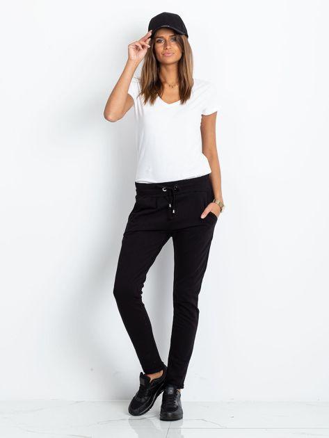 Czarne spodnie Cadence                              zdj.                              4