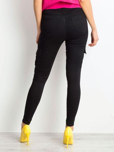 Czarne spodnie Hello                              zdj.                              2