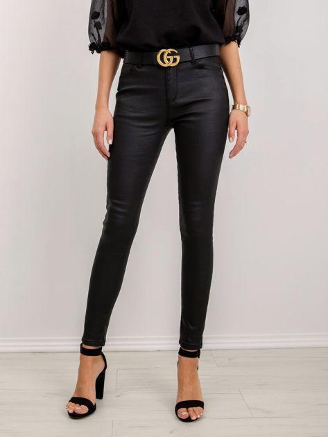 Czarne spodnie Laura