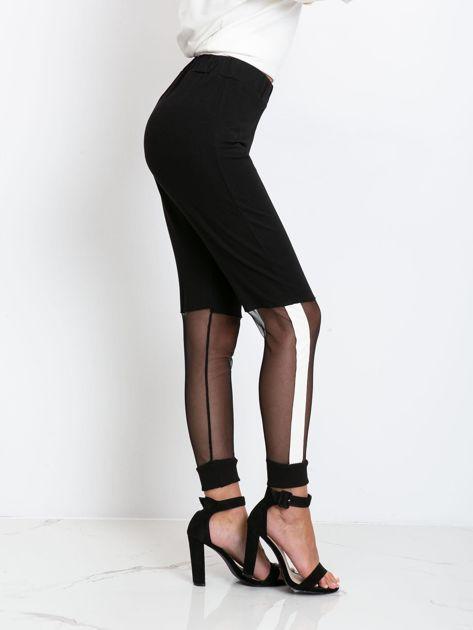 Czarne spodnie Melody                              zdj.                              3