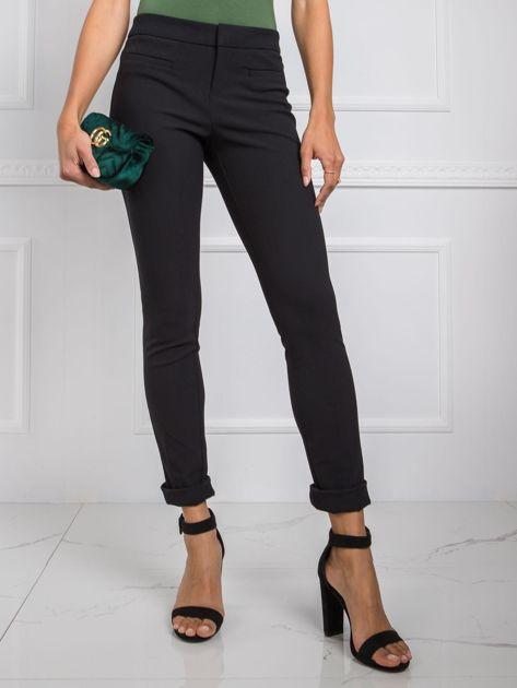 Czarne spodnie Tracy RUE PARIS
