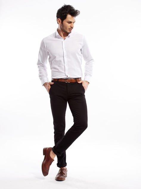 Czarne spodnie męskie slim fit                              zdj.                              18