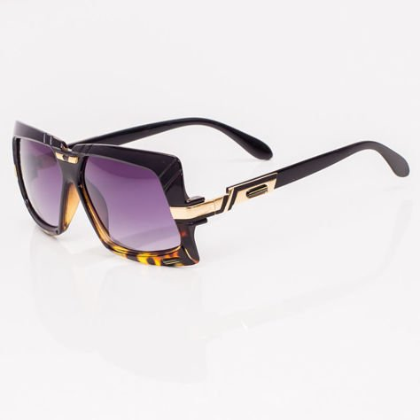 Czarno-Brązowe Okulary Przeciwsłoneczne                              zdj.                              3