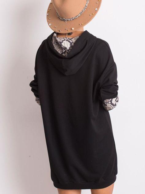Czarno-beżowa sukienka Sierra                              zdj.                              2