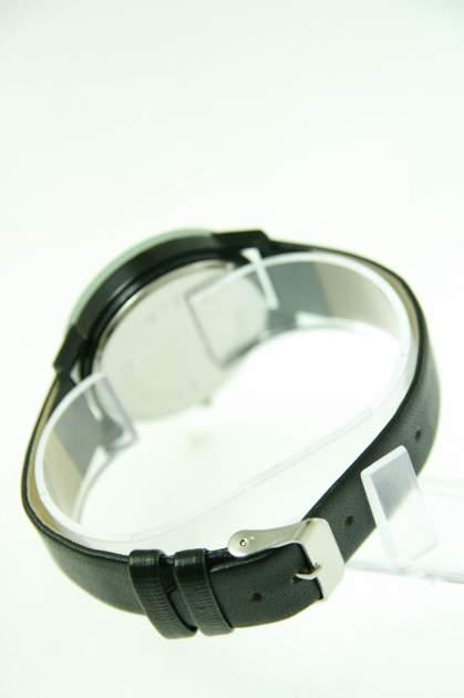 Czarno-biały zegarek damski z cyrkoniami na skórzanym pasku                                  zdj.                                  2