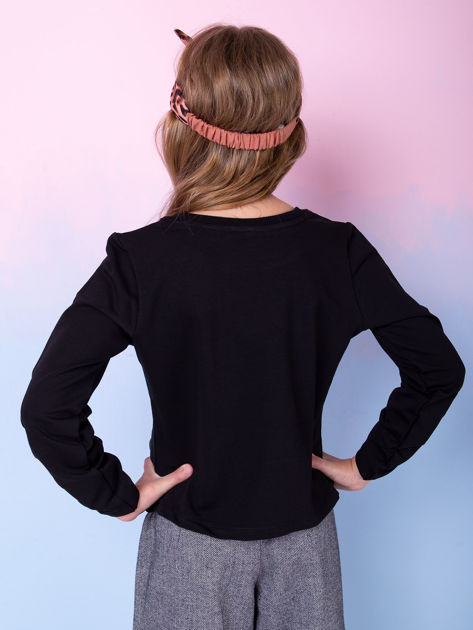 Czarny komplet dla dziewczynki                              zdj.                              5