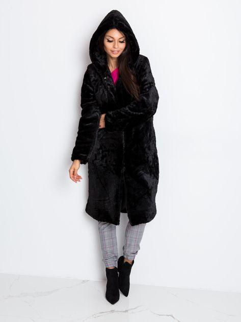Czarny płaszcz Mallory                              zdj.                              1