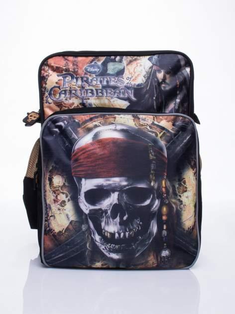 Czarny plecak szkolny DISNEY Piraci z Karaibów