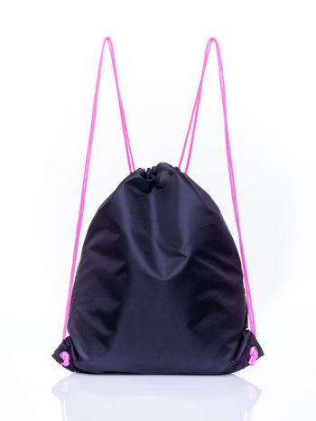 Czarny plecak worek DISNEY Doodolls