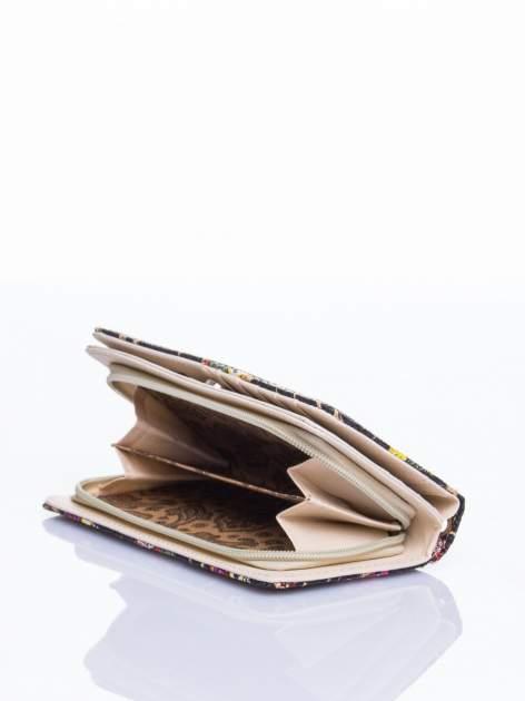 Czarny portfel w sówki                                  zdj.                                  4