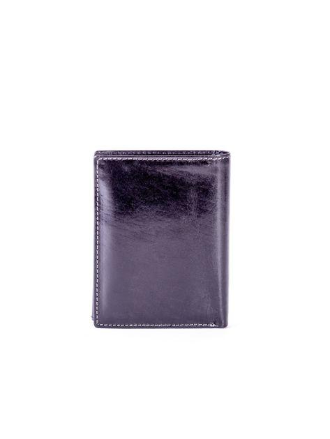 Czarny skórzany portfel                               zdj.                              2