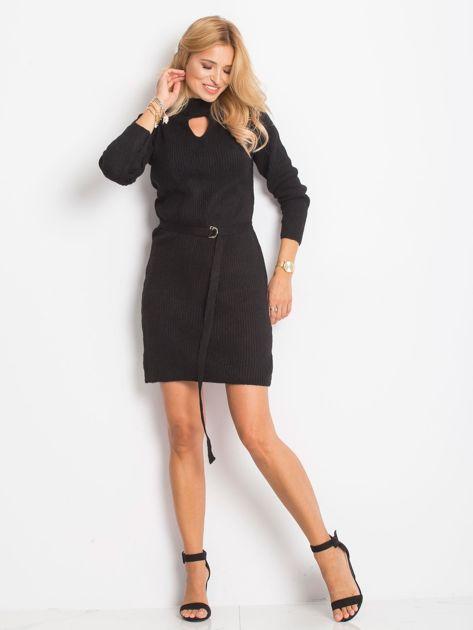 Czarny sukienka Malta                              zdj.                              6