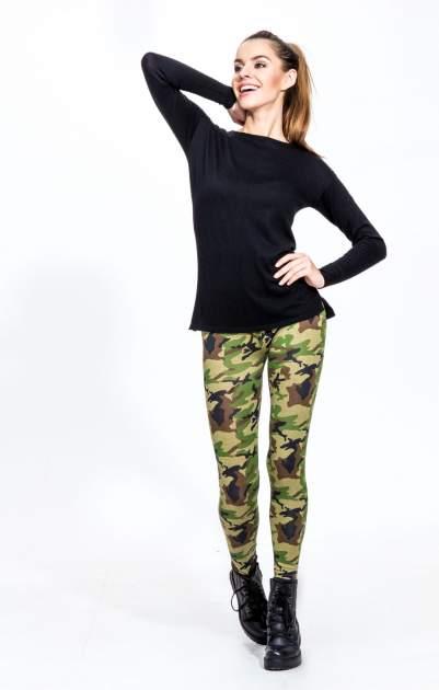 Czarny sweter z dłuższym tyłem i rozporkami po bokach                                  zdj.                                  11