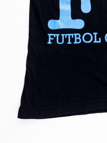 Czarny t-shirt męski FC BARCELONA                                  zdj.                                  13
