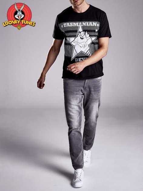 Czarny t-shirt męski LOONEY TUNES                                  zdj.                                  9