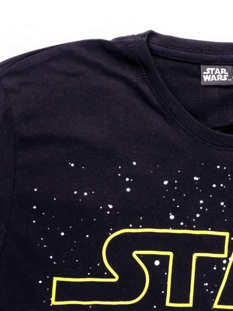 Czarny t-shirt męski motyw STAR WARS                                  zdj.                                  12