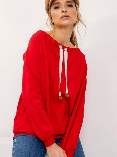 Czerwona bluza Ace