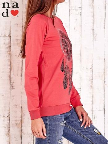 Czerwona bluza z łapaczem snów                                  zdj.                                  3